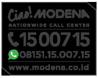 Halaman Kontak Telpon Email Alamat Modena